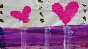 Arte de niños refugiados en Cd Juárez